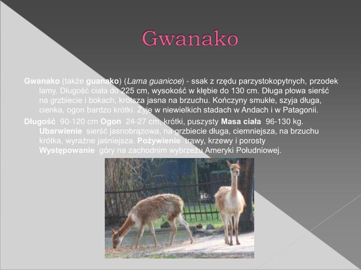 Gwanako