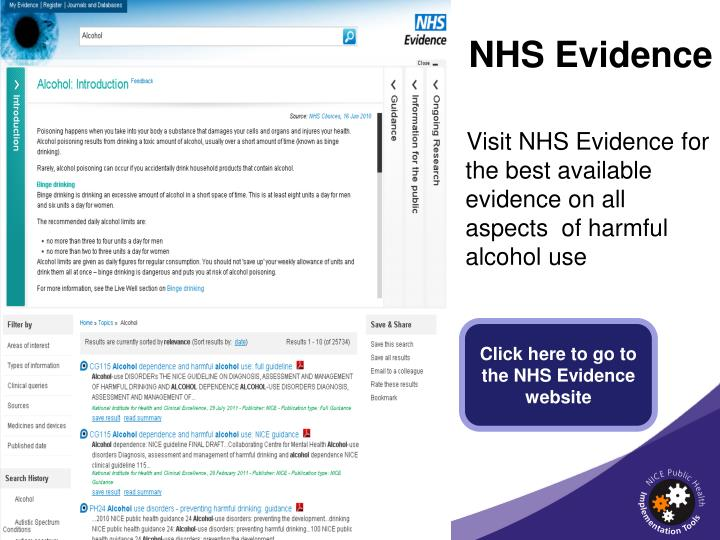 NHS Evidence