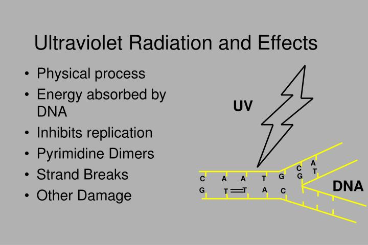 Ultraviolet Radiation and Effects