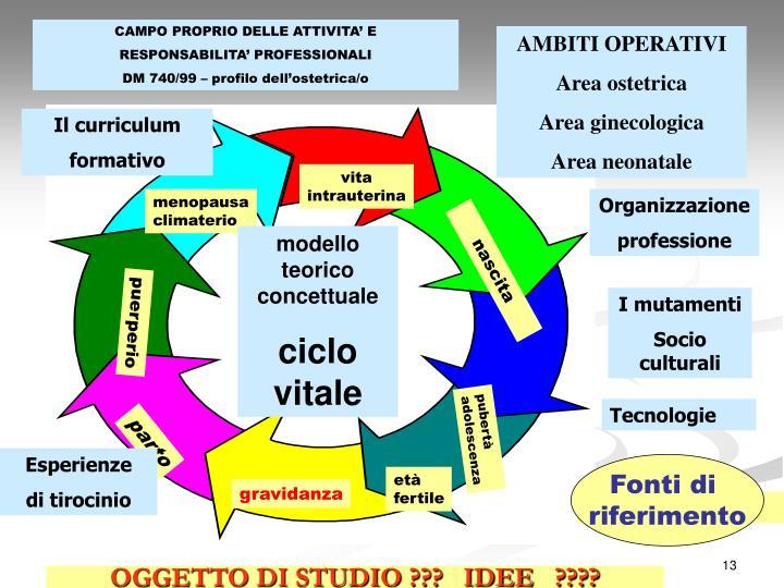 CAMPO PROPRIO DELLE ATTIVITA' E