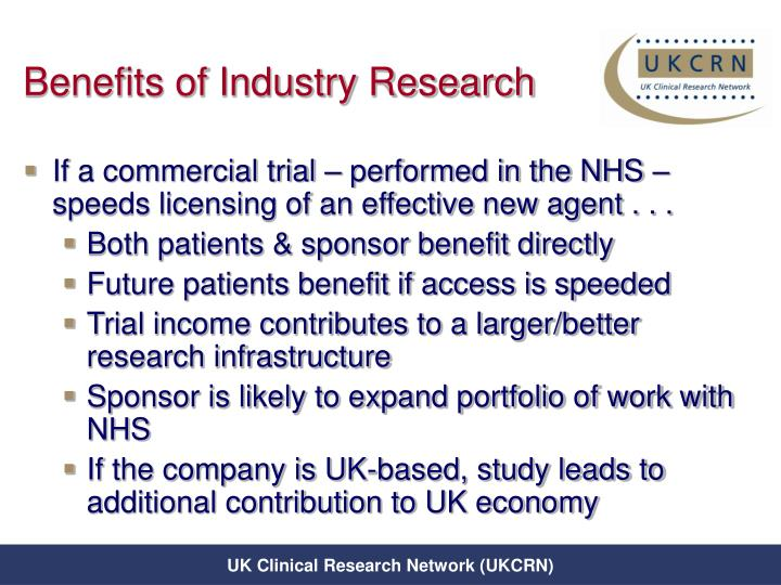 Benefits of Industry Research