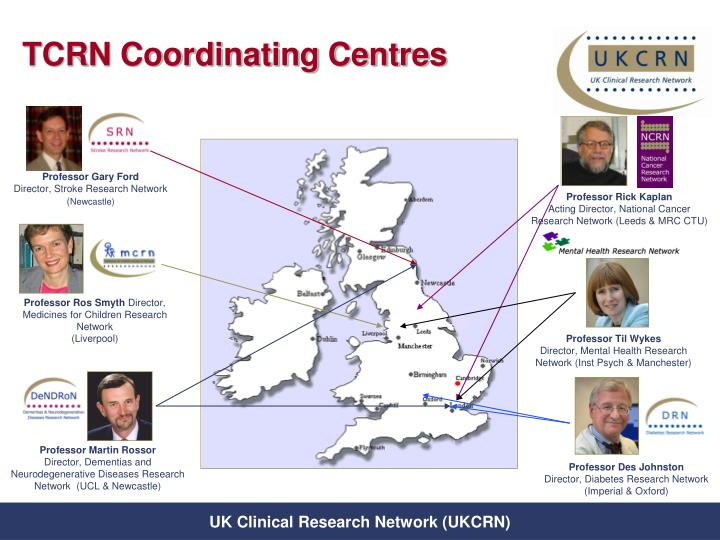 TCRN Coordinating Centres