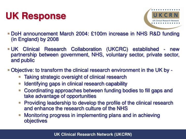 UK Response