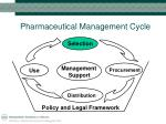pharmaceutical management cycle