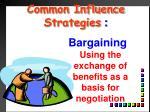 common influence strategies4