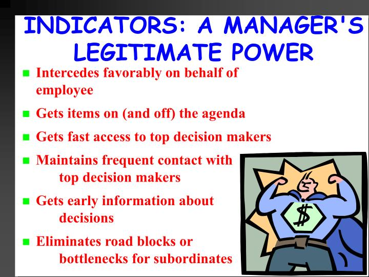 INDICATORS: A MANAGER'S