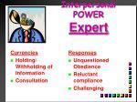 interpersonal power expert1