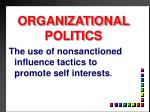 organizational politics1