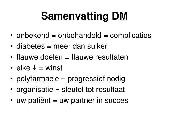 Samenvatting DM