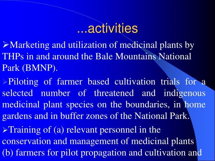 ...activities