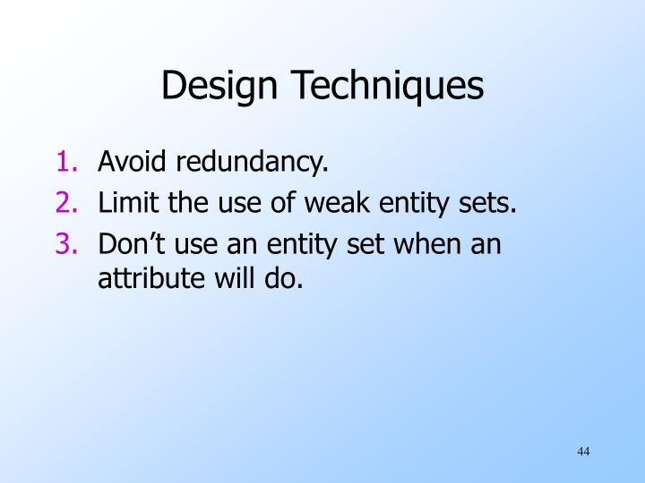 Design Techniques