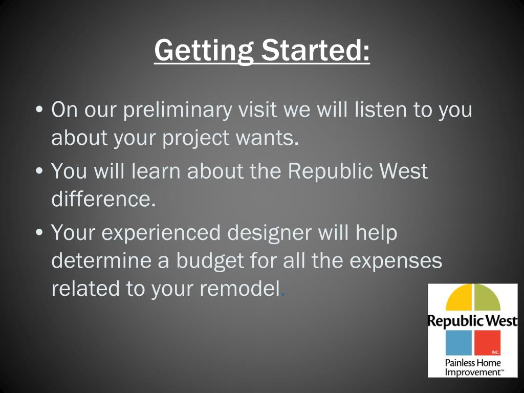 Getting Started: