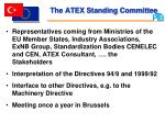 the atex standing committee
