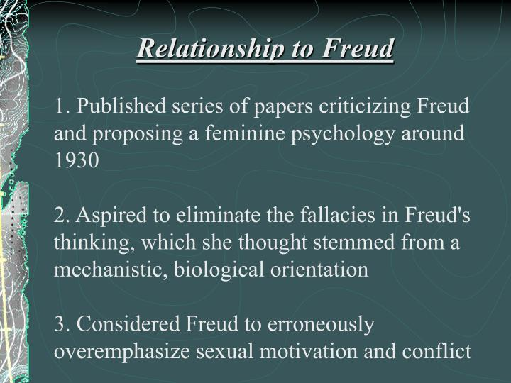 freuds essay on femininity On freud's 'femininity'  she has also published numerous papers about femininity in books and in psychoanalytic journals in spanish, english, portuguese, and .