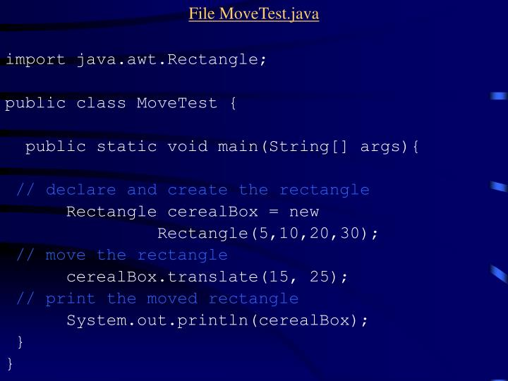 File MoveTest.java