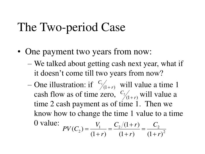 The Two-period Case