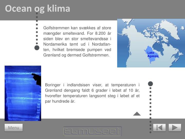 Ocean og klima
