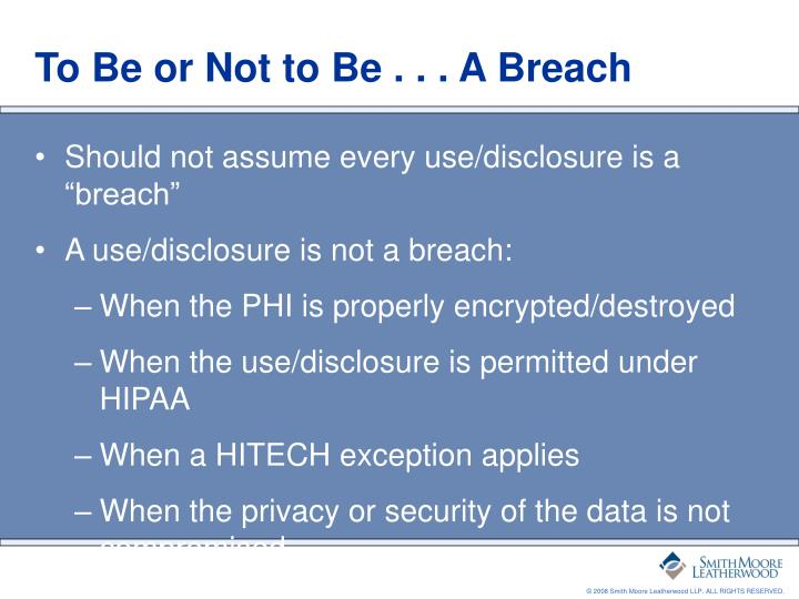 PPT - Investigating Privacy Breaches under HITECH and ...