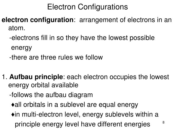 ppt atomic orbitals electron configurations powerpoint. Black Bedroom Furniture Sets. Home Design Ideas