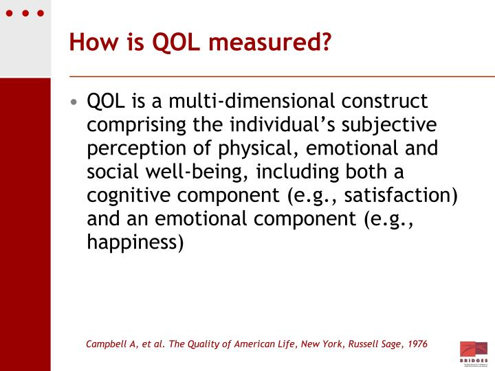 How is QOL measured?