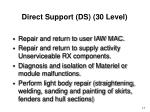 direct support ds 30 level1