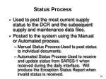 status process