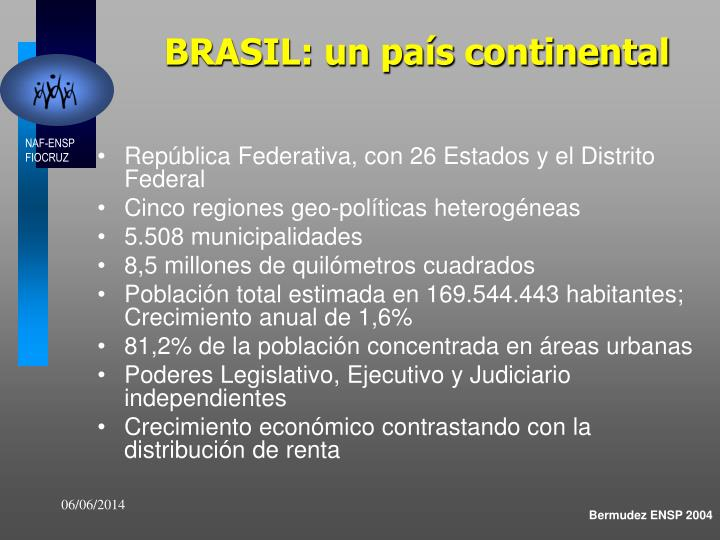 BRASIL: un país continental