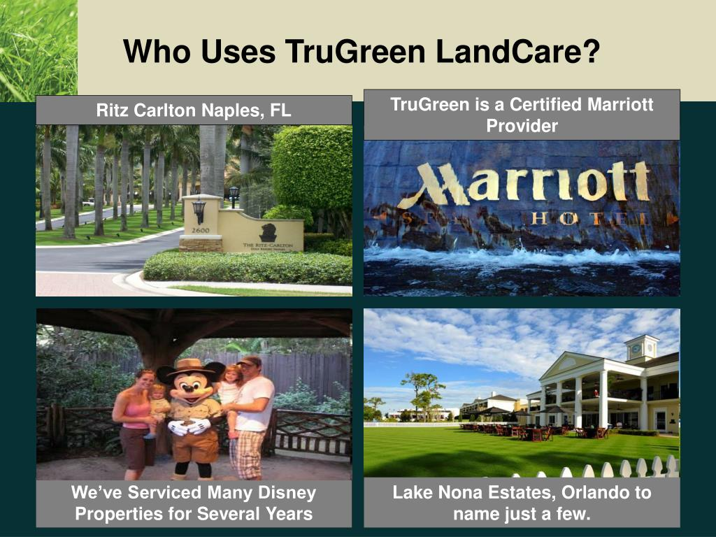 Who Uses TruGreen LandCare?