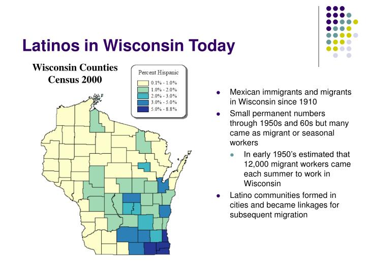 Latinos in Wisconsin Today