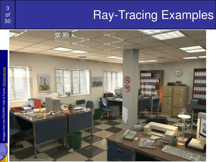 Ray-Tracing Examples