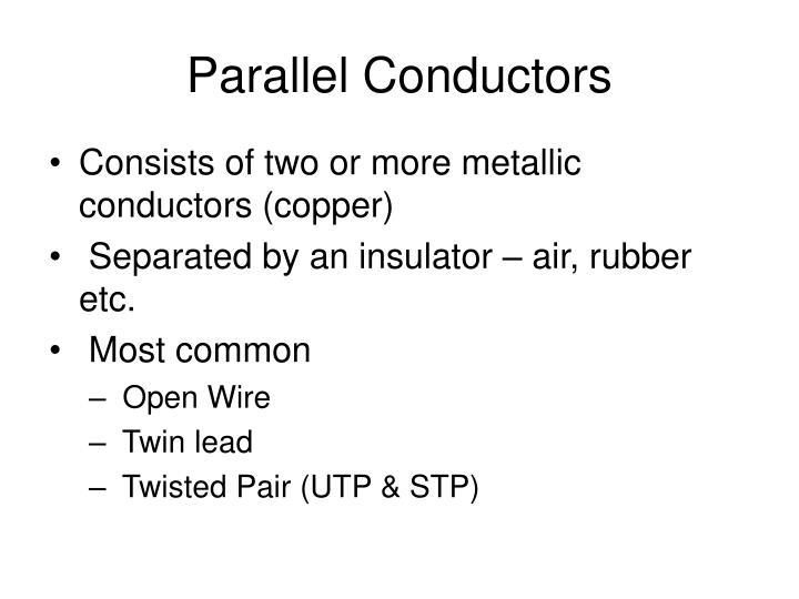 Parallel Conductors