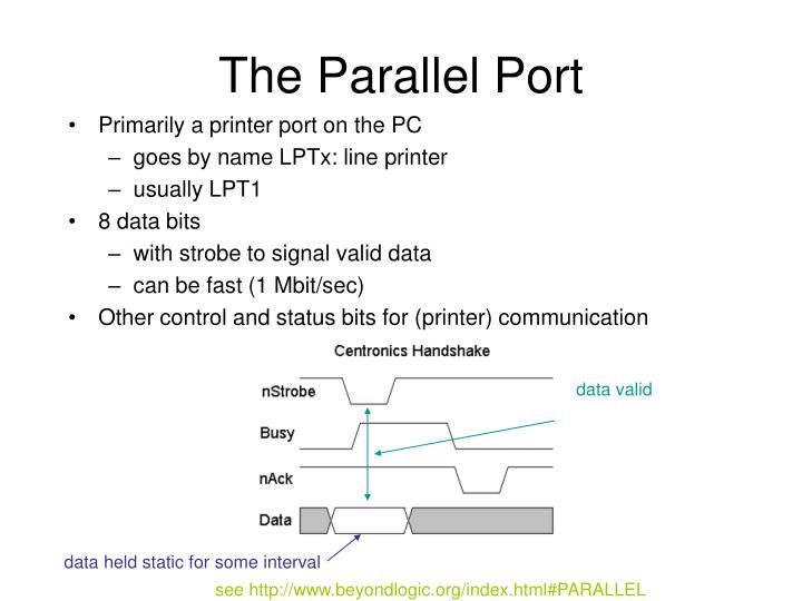 The Parallel Port