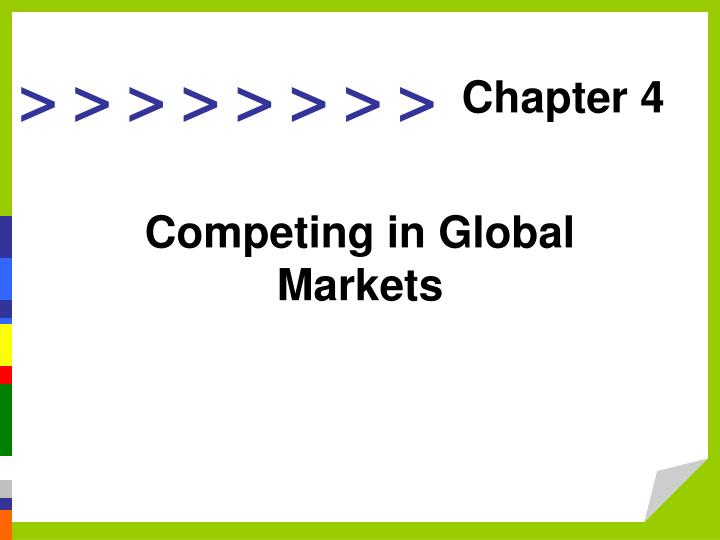 global marketing chapter 1 notes