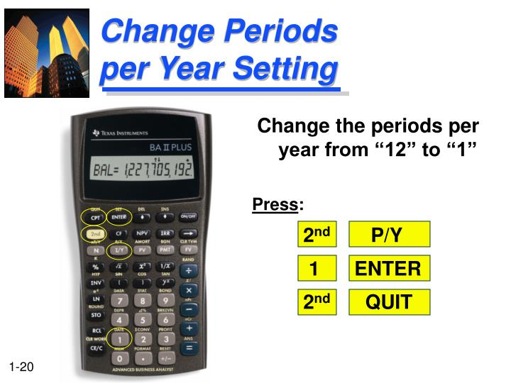 Change Periods