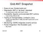 grid ant snapshot