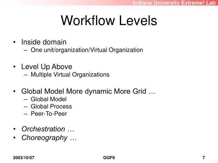 Workflow Levels