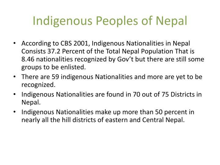 Indigenous Peoples of Nepal