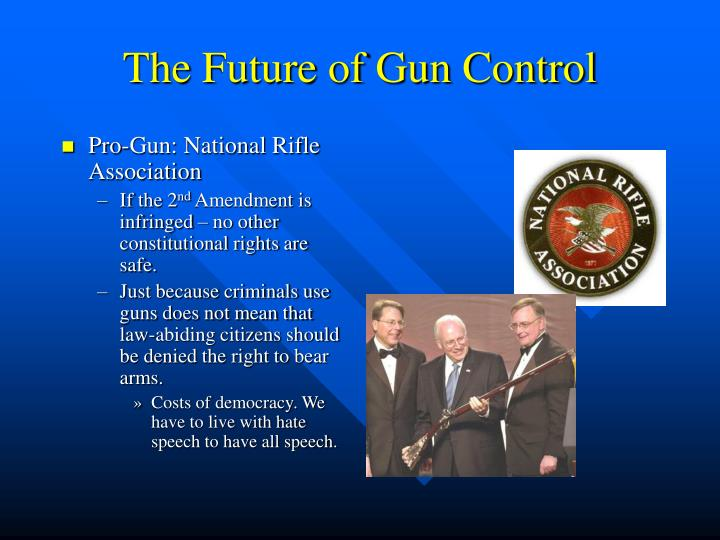 an analysis of the future of the gun control Keywords: gun control gun violence mass shooting public opinion  while  interesting, is beyond the scope of this analysis and is best left for future research.