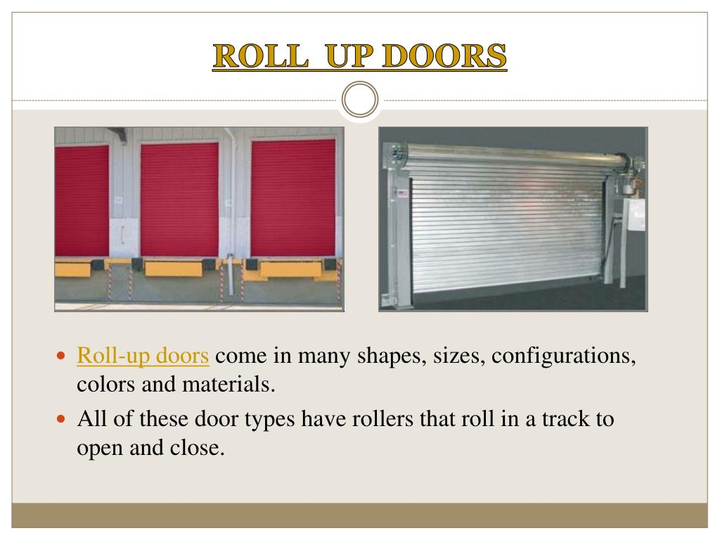 ROLL  UP DOORS