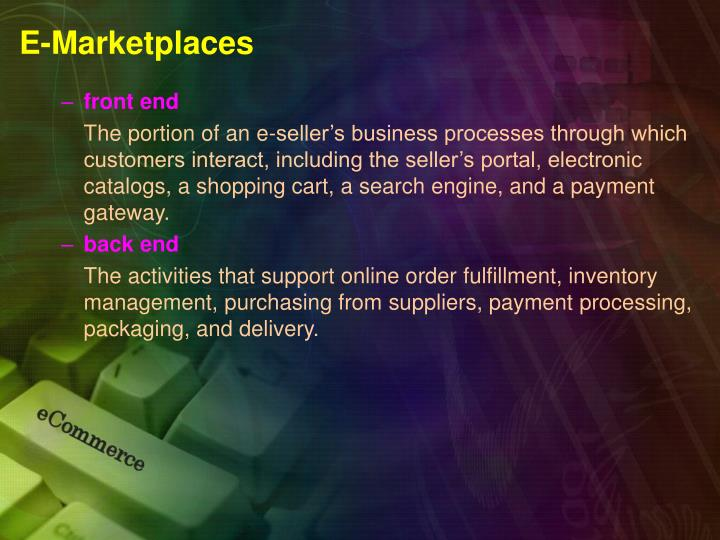 E marketplaces1