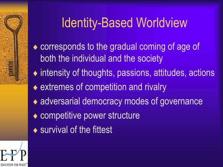 Identity-Based Worldview