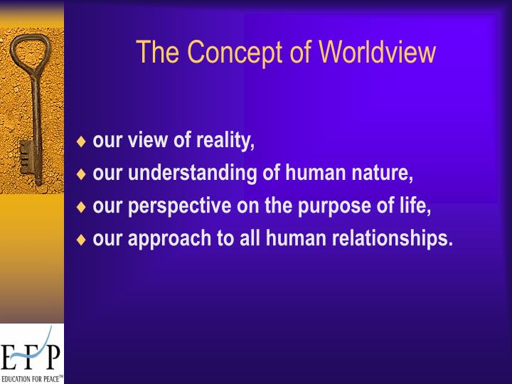 The Concept of Worldview