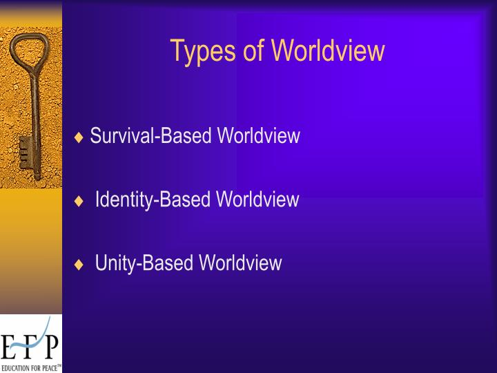 Types of Worldview