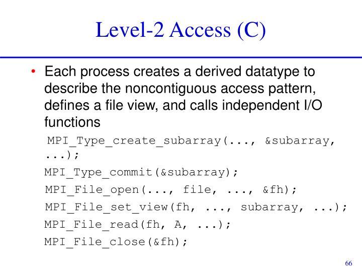 Level-2 Access (C)