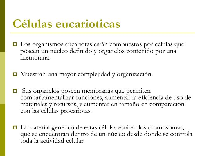 Células eucarioticas
