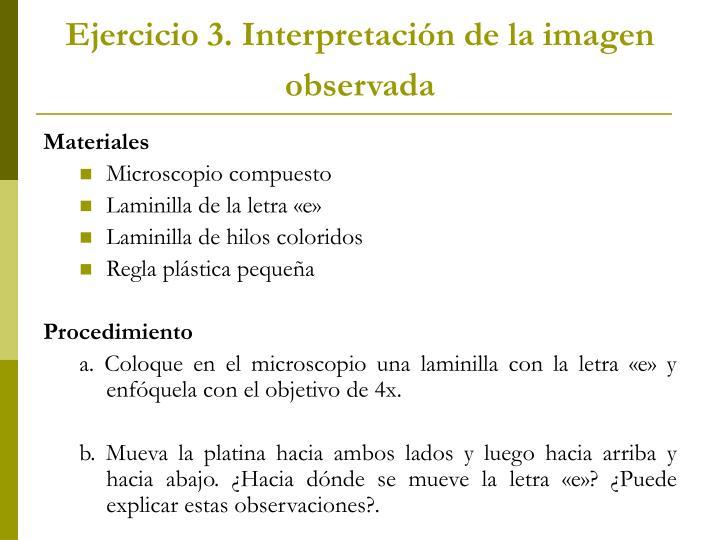Ejercicio 3.