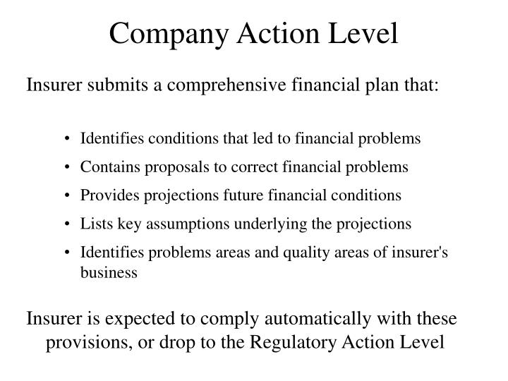 Company Action Level