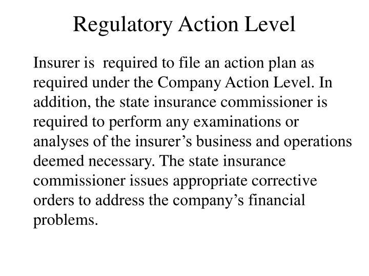Regulatory Action Level
