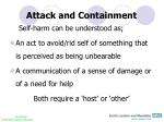 attack and containment