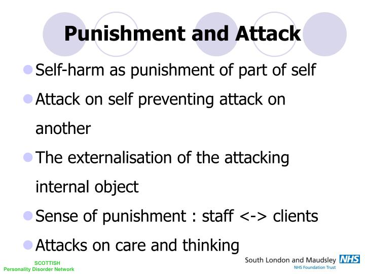 Punishment and Attack
